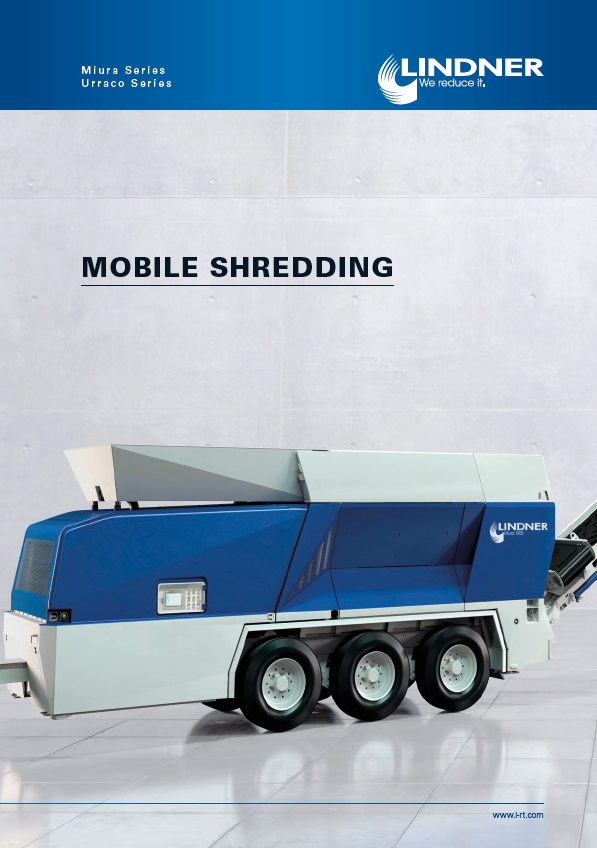 Lindner Mobile Shredding