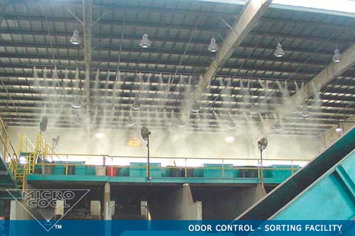 Dust suppression systems by MicroCool