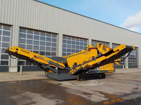 Barford Equipment to launch two new track mounted screeners into the US market