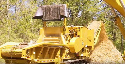 HG6800TX Horizontal Grinder from Vermeer Recycling Equipment