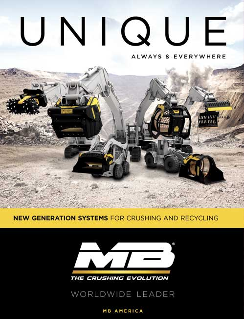MB Crusher: New Generation Systems for Crushing and Recycling