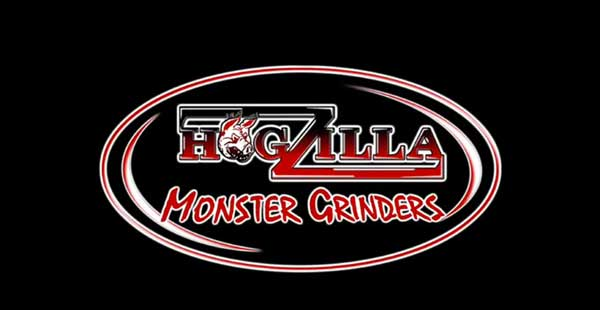 HogZilla Tub Grinder Processing Tires