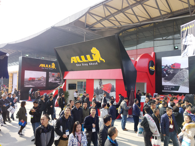 ALLU to transform solutions at bauma China