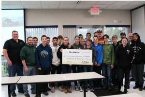 Telsmith supports Port Washington High School with donation