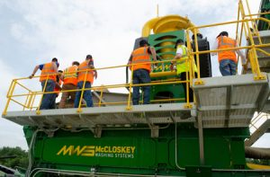 McCloskey Washing Systems first North American Open Day showcases Sandstorm 620