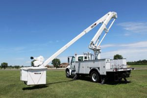 Terex Utilities published technical tip on adjusting demand throttle for telescopic aerial devices