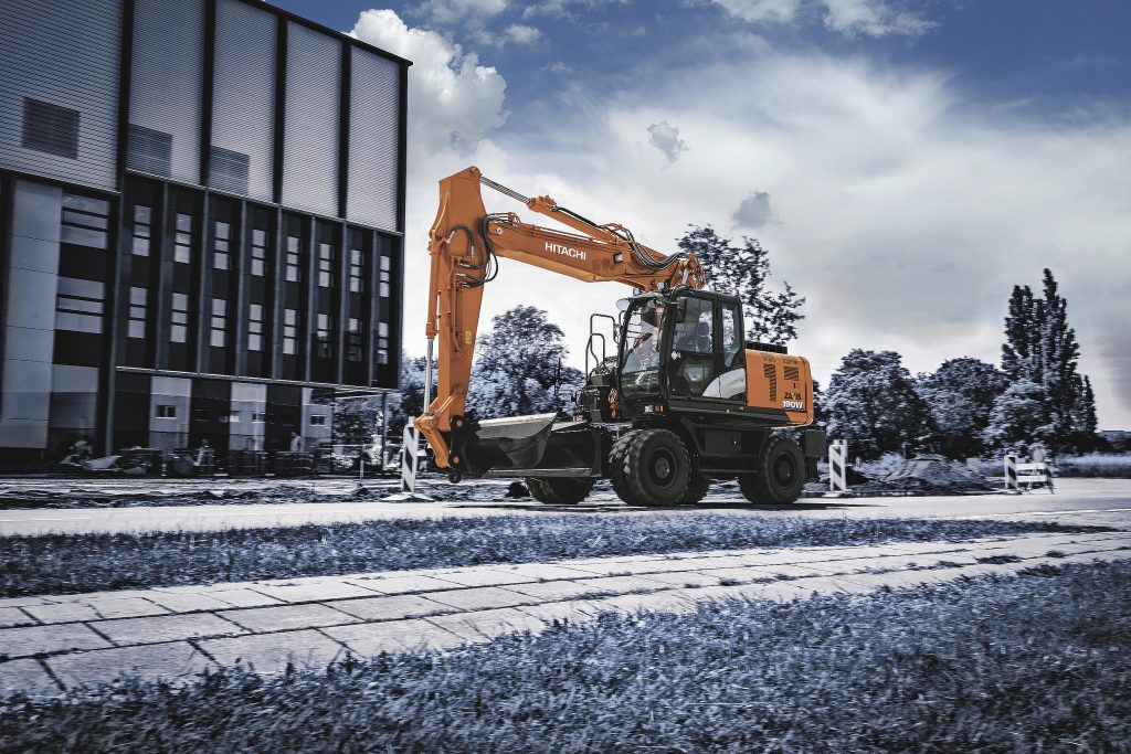 Hitachi introduces next generation of wheeled excavator – the ZX190W-6