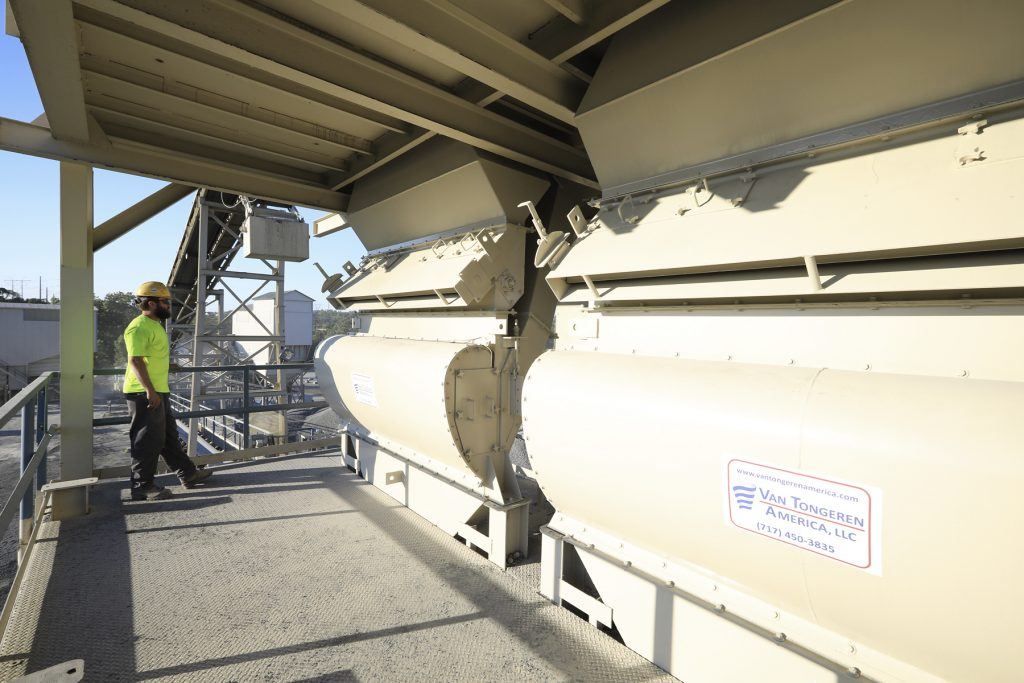 Van Tongeren system classifies aggregates without water