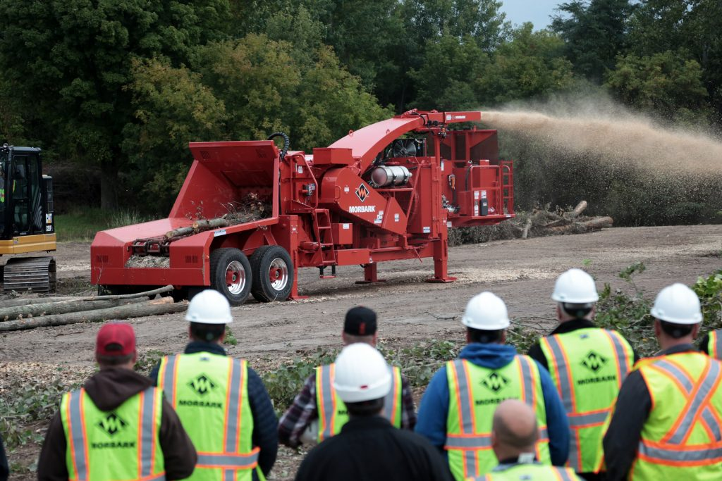 Morbark® debuts new equipment at demo days event