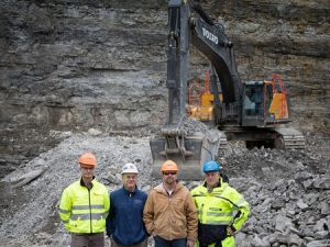 Visionary  partnership  boosts  quarry uptime