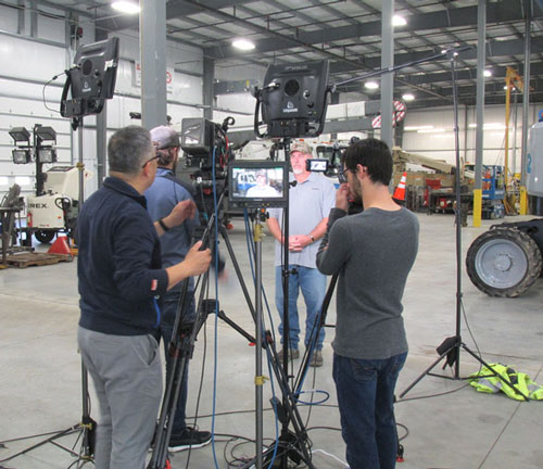 Terex Team Members to be Featured in Episode of Lifetime's 'Military Makeover: Operation Career' Television Show
