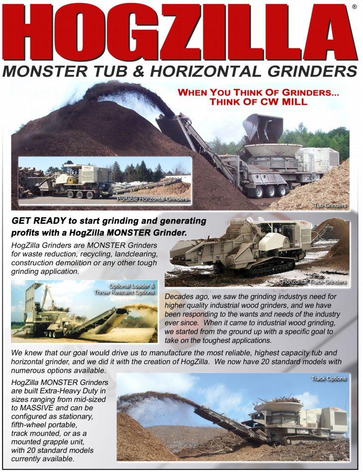 Hogzilla – Monster Tub & Horizontal Grinders