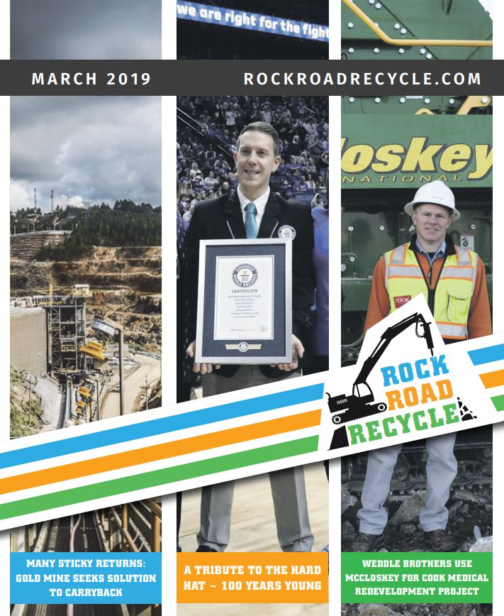 ROCK ROAD RECYCLE March 2019