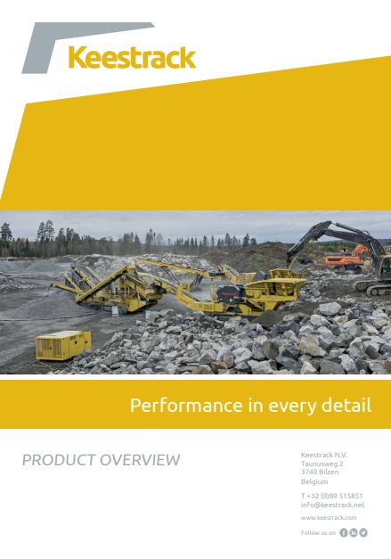 Keestrack Performance in every detail