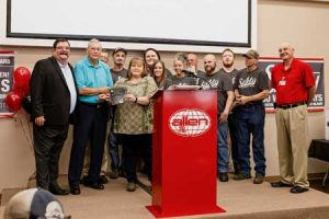 Allen Engineering receives Accumulative Safety Award for three years without lost time