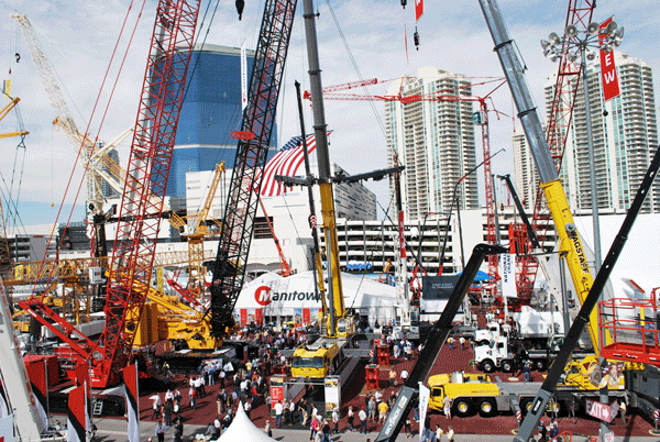 Manitowoc to debut six new cranes at CONEXPO 2020