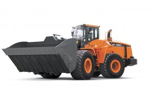 Doosan introduces the DL580-5 wheel loader to serve aggregate, mining and construction markets