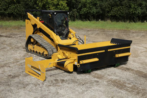 Road repair contractors achieve 90% less maintenance with Road Widener's FH-R attachment