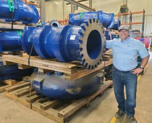Desmond Wilson raises the bar for pump repair services