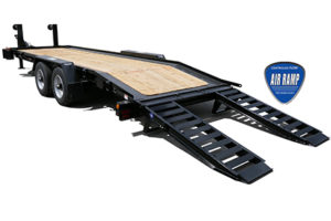 Felling Trailers to Debut Drop Deck Air Ramp System at The Utility Expo