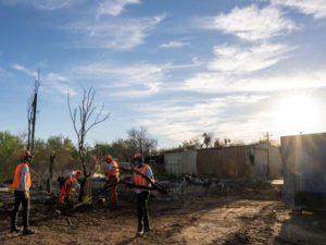 CASE, Sonsray Machinery provide equipment for Team Rubicon Wildfire cleanup efforts in Arizona