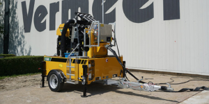 Introducing the all-electric Vermeer R500 reclaimer